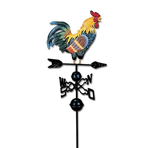 Flameer Metal Weather Vane Vintage Rooster - 47