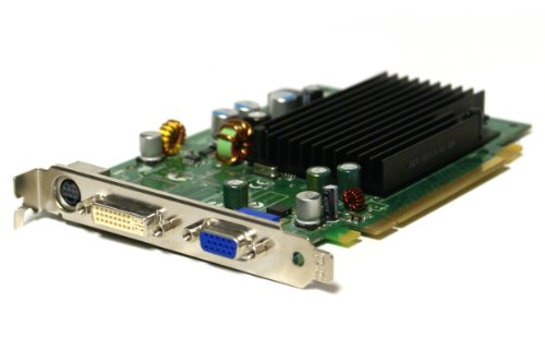 Pci Vga Dvi S-video (Genuine Dell DT240 DK315 CH484 NVIDIA GeForce 7300LE 128MB PCIe x16 DVI VGA Video Graphics Card)
