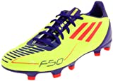 adidas Men's F30 TRX Fg Soccer Cleat,Electricity/Infrared/Sharp Purple Anodized,12 D US