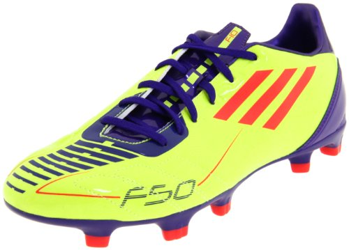 adidas Men's F30 TRX Fg Soccer Cleat,Electricity/Infrared/Sharp Purple Anodized,12 D - F30 Trx Fg