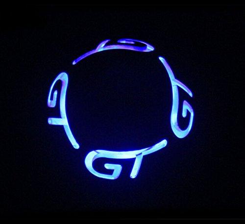 TESWNE Blue LED Light Motorsport Manual Stick Shift Knob,Gear Stick Shift Head,Gear Shift Knob