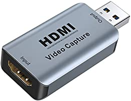 Video Capture Card, GANA Video Audio HDMI to USB Record Card