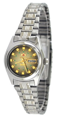 Orient #BNQ1X003X Women's Tri Star Brown Dial Automatic Watch