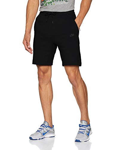 NIKE Sportswear Tech Fleece Men's Fleece Shorts (Black/Black/Black, ()