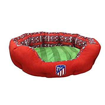 Amazon.com: Atletico de Madrid BE-01L-ATL Cama para animales ...