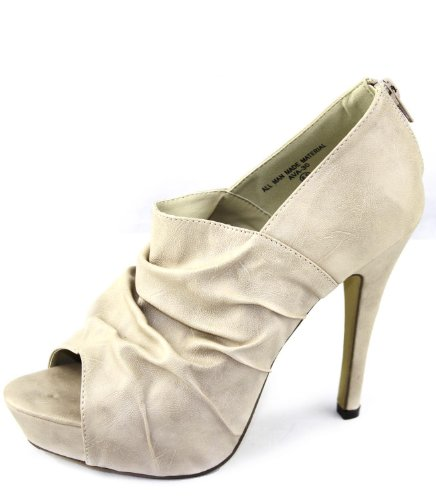 Women's Modesta Ava-30 Peep Toe Booties Fashion Shoes