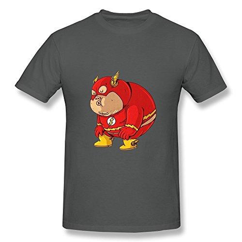 Flash Fat Superhero Tees For Mens