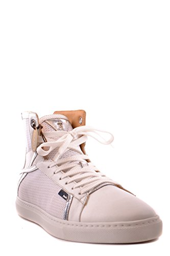 Cesare Leather Top Women's Hi White Paciotti Sneakers MCBI068018O qwn7BrCxq
