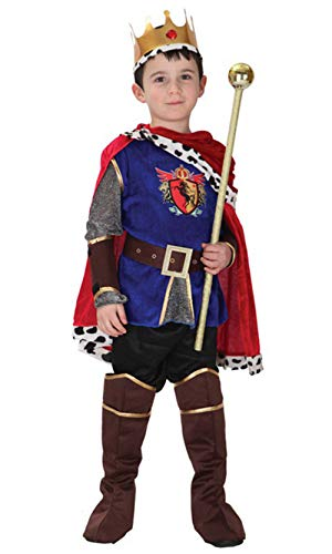 stylesilove Kid Boys Halloween Costume Cosplay Outfit Themed Birthdays Party (Honorable Prince, M/4-6 Years)