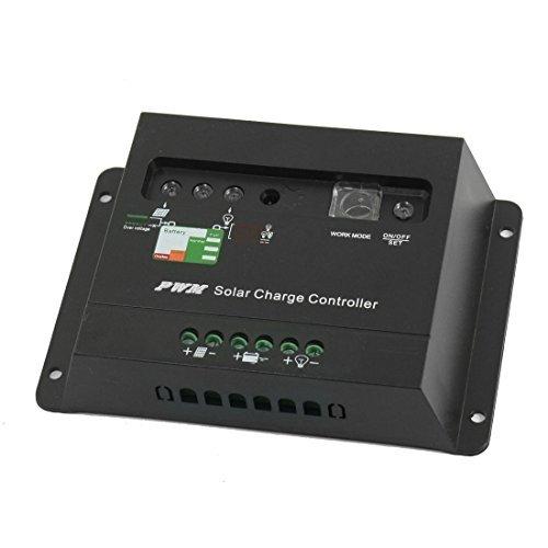 eDealMax a14040900ux0101 CME-20A Rgulateur de batterie Solaire Portable Panneau de contrleur de Charge, 20 Amp, 12V et 24V