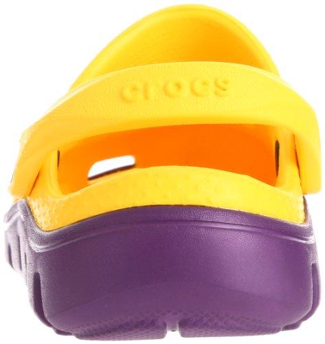 Unisex Niños Yellow Sbl Duet Zuecos C4 5 K grape Spt Clg oys Crocs wOvg1qv