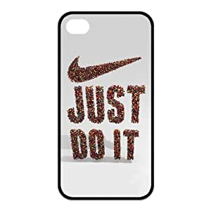 Just Do It Custom Case For Iphone 4,4s (TPU)