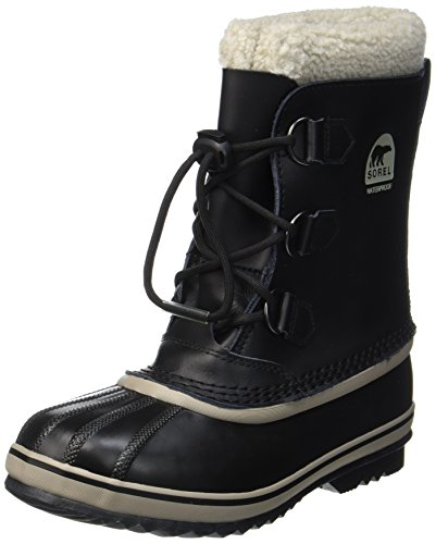(Sorel Yoot Pac TP Cold Weather Boot, Black, 4 M US Big Kid)