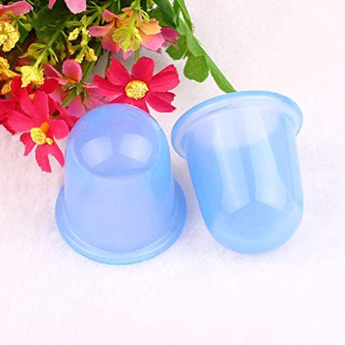 Pink Pcs Purple Size 4 Cups Cellulite Anti couleur Cellulite Pieces Silicone Massage Blue Vacuum 2 Zhrui T4qw1A
