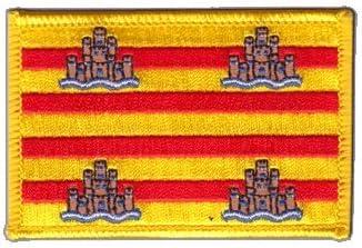 Digni Bandera de España Ibiza parche + libre sticker: Amazon.es: Hogar