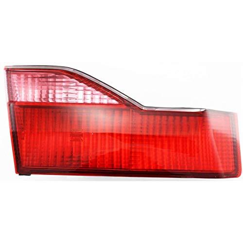 New Left Driver Side Inner Tail Lamp Lens And Housing For 1998-2000 Honda Accord Sedan HO2800122 34156S84A00 ()
