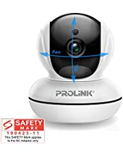 PROLiNK PIC3003WP Wireless Full-HD IP Camera with Pan-Tilt/Night-Vision