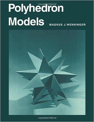 Amazon com: Polyhedron Models (9780521098595): Magnus J