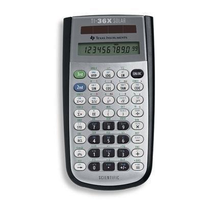 Texas Instruments TI-36X Solar Scientific Calculator