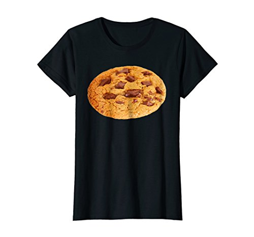 (Womens Chocolate Chip Cookies Shirt Last Minute Halloween Costume XL)