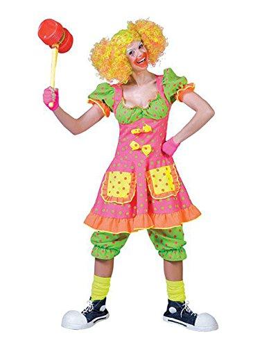 Pokey Costume (Pokey Dot Clown Costume - Womens Medium)