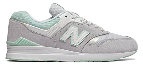 (ニューバランス) New Balance 靴?シューズ レディースライフスタイル 697 Silver Mink シルバー ミンク US 7.5 (24.5cm)