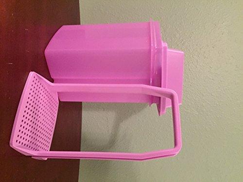 (Tupperware Pick-A-Deli Container in Purple Daisy)