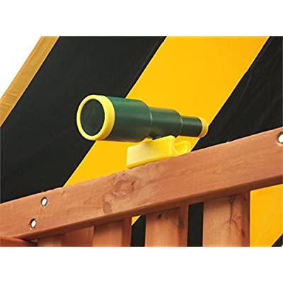 Eastern Jungle Gym Extra Large Plastic Toy Telescope Swing Set Accessory Green for Outdoor Wooden Swing Set: Toys & Games