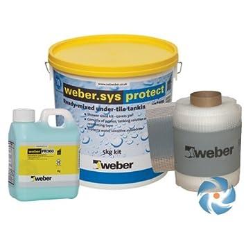 Weber Sys Protec Tanking Etanche Kit Pour Pieces Humides Salles De