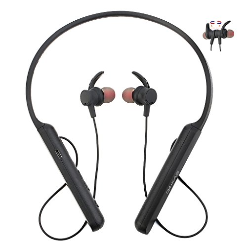 Lukalook Neckband Wireless Bluetooth V4.2 Earphones Stereo H