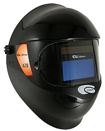 Climax profesional máscara de soldadura automática y escudo