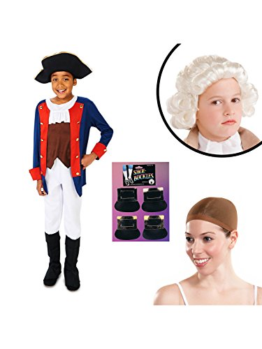 Child Colonial Soldier Costume (Patriot Soldier Boy Child Costume Kit Small)