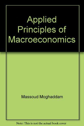 Applied Principles of Macroeconomics