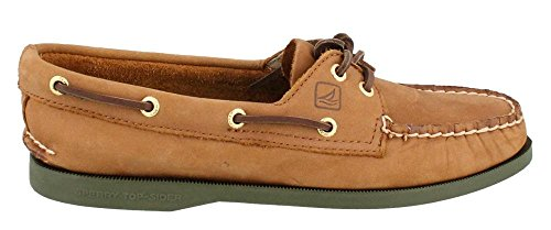 Sperry Top-sider Mujer Original Authentic Two-eye Boat Shoe Tan Olive