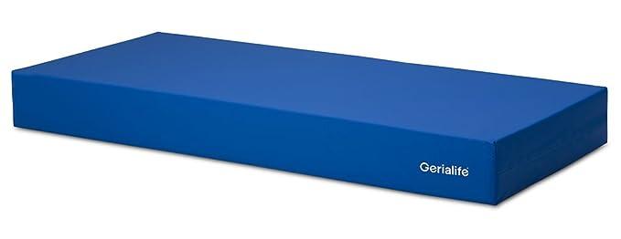 GERIALIFE® Colchón Geriátrico Hospitalario Articulado | 5 cm de Viscoelástica | Funda Sanitaria Impermeable (80x190): Amazon.es: Hogar