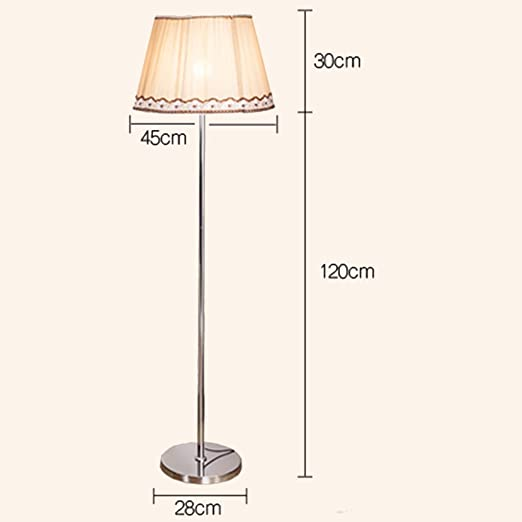 MJK Lámpara de pie, luz de piso con control remoto LED para ...