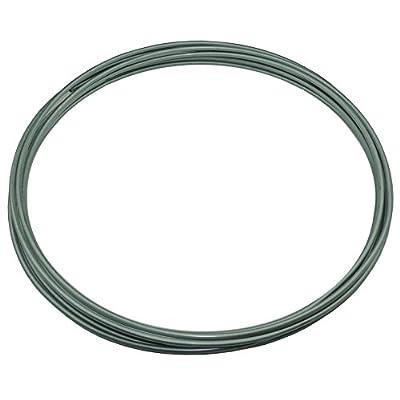 OE Zinc Automotive Steel Brake Line Tubing Kit 3/16 OD Coil Roll (L-2-1): Automotive