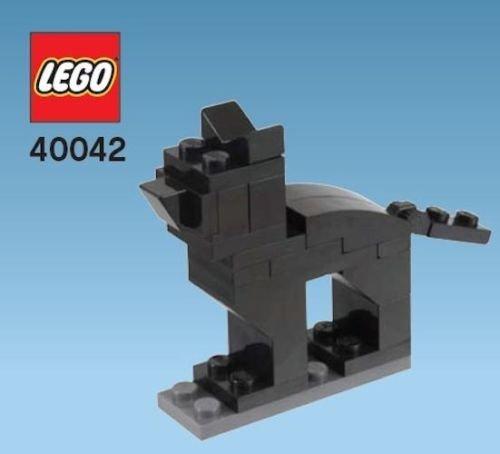 Constructibles® Black Cat Mini Model LEGO® Parts & Instructions Kit - 40042]()