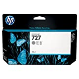 HP B3P24A HP 727 130-ml Gray Ink Cartridge