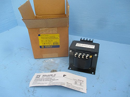 Control Transformer, 500VA, 3.80 In. H by Square D