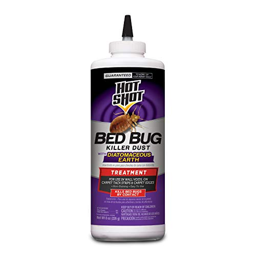 Hot Shot Bed Bug Killer Dust With Diatomaceous Earth, 8-Ounce ()