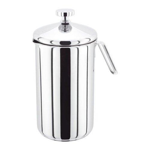 Judge 8-Cup Cafetiere, Silver, 1 Litre JA95
