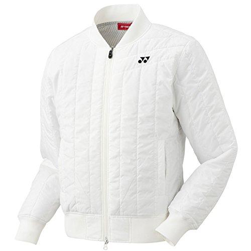 ヨネックス メンズ ゴルフウエア ヒートカプセルTi フルジップ 中綿ブルゾン GWF9192 2017年秋冬モデル ホワイト(011)