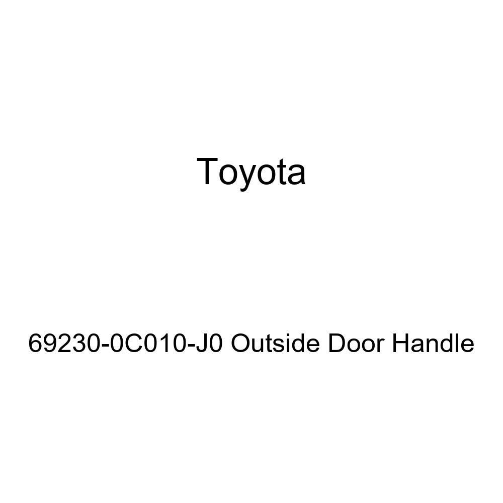 Toyota 69230-0C010-J0 Outside Door Handle