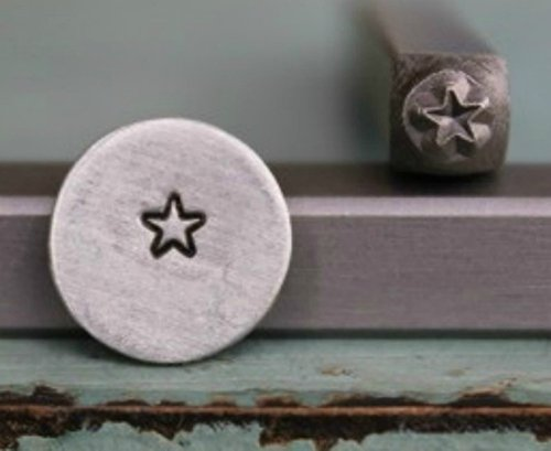 Brand New Supply Guy 3mm Rounded Corner Star Metal Punch Design Stamp CH-32