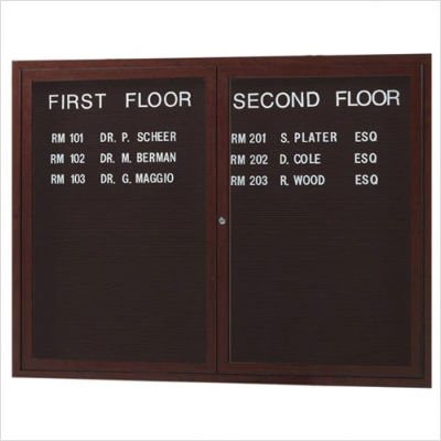 Outdoor Directory Board with Wood-Look Finish (Directory Board Outdoor)