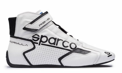 - Sparco Formula RB-8.1 Racing Shoes 00001251 (Size: 38, White/Black)