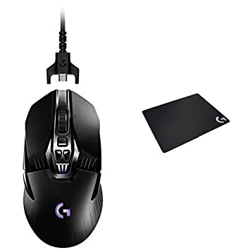 0895e7c9df0 Logitech G900 Chaos Spectrum Professional Grade Wired/Wireless Gaming Mouse  (910-004558) + Logitech G240 Cloth Gaming Mouse Pad Bundle: Amazon.ca:  Computers ...