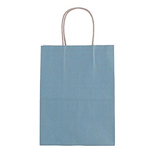 "Titan Mall 8""x4.75""x10"" Kraft Paper Bags Wisteria  Shopping"