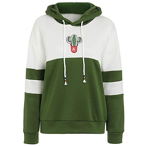 KCatsy Womens Fuzzy Fleece Sweatshirt Hoodie with Pockets Fur with Zipper Two Tone Drawstring Pullover ()